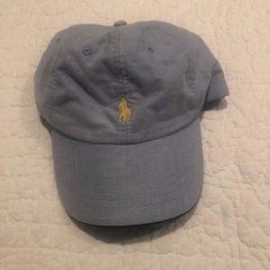 Ralph Lauren light blue cap